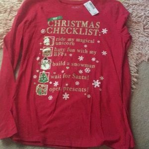 Children's Place holiday tee
